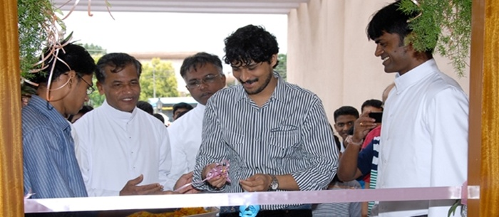 Inauguration by Mr. Rajesh Krishnan, a well-known and renowned playback singer