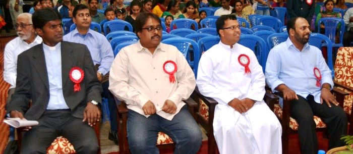 Mr. Praveen Deth Stephen, a well known music Director as the chief-guest for Musical Fiesta - 2014 (Annual Day)
